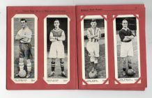 TRADE cards  Miniature Panel Portraits of Football Stars 1937